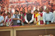 NCP Leader Vir Bidhuri joins BJP