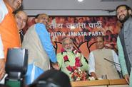 Shri Narendra Modi anointed as BJP's PM Candidate